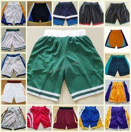 Wholesale flashing pants - Best 2018 New Season Breathable Sweatpants Teams Men Basketball Shorts Quick Dry Pants CLEVELAND BOSTON HUSTON Outdoors New Material Shorts