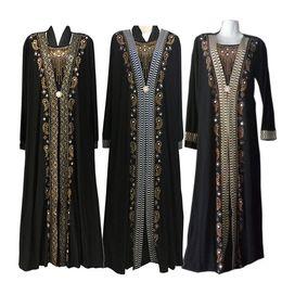 Deutschland Mode arabischen muslimischen Abaya Kleid islamischen Kleidung für Frauen Dubai Kaftan Abaya Kleid türkische muslimische Kleider bescheiden Abaya Kleider supplier dubai clothes Versorgung