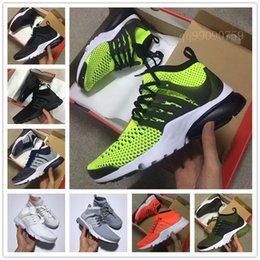 Wholesale mens leather walking shoes - 2018 Air PRESTO BR QS Breathe Black White Mens Basketball Shoes Cheap Women PRESTOS 5 BR QS Running Shoes For designer Walking Sneakers