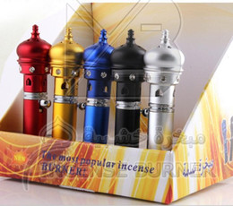 Wholesale Aroma Burner - Hot Arabia aroma lighter portable incense burner, the color of random delivery