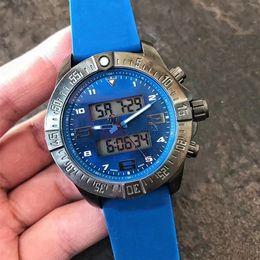 Wholesale japanese quartz chronograph movements - AAA Top Luxury Brand Men's Liquid Crystal Chronograph Watch Stainless Steel Japanese Quartz Movement Sports Men Watches Wristwatch