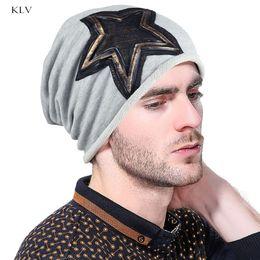 9b25e55812e thin beanie hats men Canada - Warm Slouchy Beanie Hat Thin Breathable  Single Pile Heap Cap