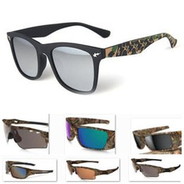 Wholesale Frame Glasses Online - Fashion Sport Sunglasses Camo Edition Bicycle Men Women Cool Eyewear Brand Designer Sun Glasses Goggle Outdoor Cycling Sunglasses Online