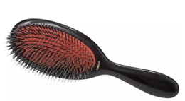Wholesale Massages Oil - Mason Hair Brush with Massage Paddle Comb Boar Bristles Mix Nylon Brush Barber Brush Hair Extension Mason Pearson GLO