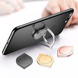 Wholesale Metal Stand For Iphone - Water Droplet Finger Ring Universal 360 Degree Mobile Phone Metal Stand Holder For Apple iPhone Samsung Xiaomi Huawei