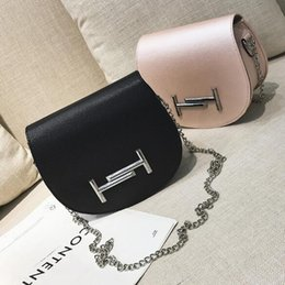 39279b236a0e TT Shell Shape Package Black Pink Blue Light Grey Beige Cross Body Chain Bag  Single Shoulder Bag