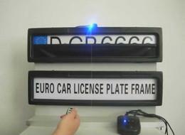 copertura in plastica a distanza Sconti Spedizione gratuita-Plastica Targa automobilistica europea Telecomando Copertura della targa automobilistica / Piastra automatica Privacy (formato EURO e Russia)
