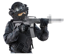 Argentina Máscara de casco táctico con gafas para Airsoft Army Paintball WarGame deporte al aire libre motocicleta ciclismo caza Suministro