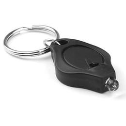 Mini schwarzes licht keychain online-Neue 5 teile / los Beliebte Weiß Licht 22000 mcd tragbare mini LED Keychain Taschenlampe Schwarz party supplies