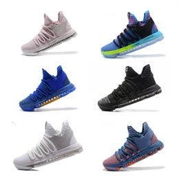 fd5a76362645 2018 Newest KD 10 shoes High quality Zoom KD 10 Oreo Basketball Shoes KD X  Athletic Outdoor free shipping