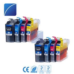 Wholesale Inks For Brother Printers - 8 Pack Ink Cartridges LC127 LC125 Compatible for Brother MFC-J4410DW  J4510DW  J4610DW J4710DW J6920DW  J6720DW  J6520DW Printer (EUR)