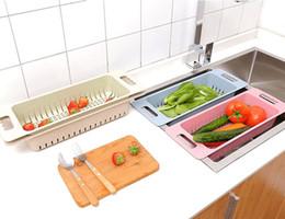 Wholesale Sinks Bowls - Vetable Fruit Washing Racks Wheat Straw Sink Bowl Plate Draining Rack N017