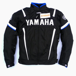 summer motorcycle jacket xxl Coupons - 2017 Summer Motorcycle Moto GP Jacket With Protector For YAMAHA M1 Racing Team Motocross Clothing Black Blue