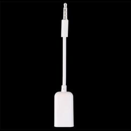Wholesale blackberry car audio - 3.5mm Male AUX Audio Plug Jack To USB 2.0 Female Converter Cord Cable Car MP3