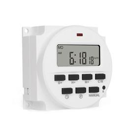 Control del interruptor del contador de tiempo de la CA del control del poder 220V 7 días del tiempo del poder programable de la retransmisión 16A 50 / 60Hz desde fabricantes