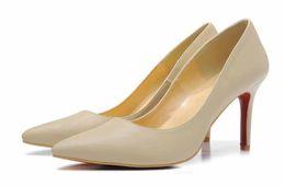 Canada marque chaussures fond rouge pour les femmes pompes à talons hauts talon dame rose mariage chaussures Red Sole fashion party [boîte d'origine, sac d'expédition] supplier pink brand wedding shoes Offre