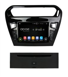 Wholesale Radio Tuner Pc - For Separate 2GB RAM 4 Core HD 8 inch 1024x600 Auto PC Head Unit Android 7.1.2 Car DVD GPS For PEUGEOT PG 301 2013-2016 3G 4G WiFi DVR OBD