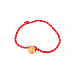 2019 chinesisches rotes armband 2 Teile / satz Chinese Red Geburtsjahr Charme Seil Kette Unisex Gute Glück Rot Paar Kinder Seil Armband Zubehör Geschenk günstig chinesisches rotes armband