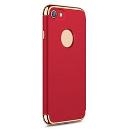 2019 étuis élégants iphone 6s 3 en 1 stylé ultra mince mince couverture arrière rigide pour Apple iPhone 7 6 6S plus bord de Samsung S9 S8 S7 plus par niubility promotion étuis élégants iphone 6s