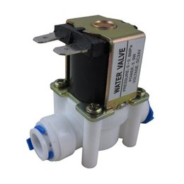 """Wholesale Reverse Osmosis Systems - 24V 1 4"""" Inlet Feed Water Solenoid Valve for Reverse Osmosis Pure System free shipping"""