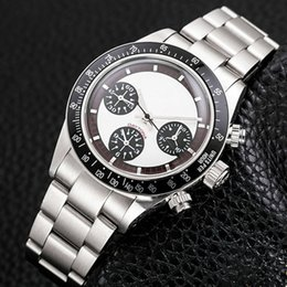 Wholesale Swiss Automatic Movement Chronograph - Best Edition Watch NOOB Factory 40mm 116520 116506 116509 Chronograph Working Swiss ETA 7750 Movement Automatic Mens Watch Watches