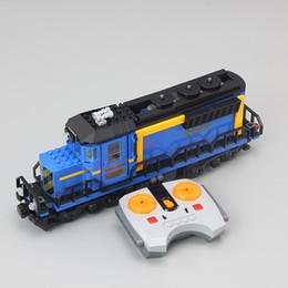 Wholesale Educational Train Toys - Lepin 02008 City Series The Cargo Train Set Building Blocks Bricks 60052 RC Train Kids Educational Toy Gift City Lepin