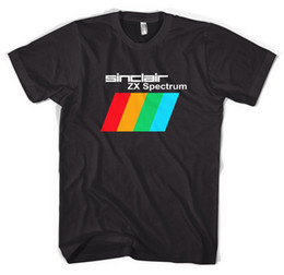 Ordinateurs drôles en Ligne-Sinclair ZX Spectrum Gaming Computers T-Shirt Unisexe Toutes les tailles