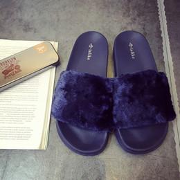 Wholesale Free Designer Shoes - 2017 Fashion Brand Sandals Men and Women Cotton Flat Plush Slippers Warp Designer Sandals Shoes Free Shipping