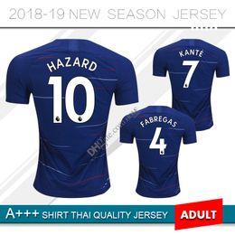2018 HAZARD MORATA home soccer jersey 2019 GIROUD FABREGAS PEDRO KANTE  WILLIAN DAVID LUIZ TOP QUALITY 18 19 away football shirt maillot a1feb1197