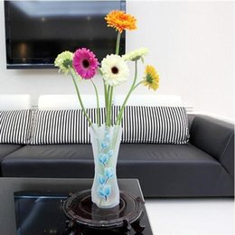 50 pcs Chaude Creative PVC Clair En Plastique Vases Sac D'eau Écologique Pliable Fleur Vase Réutilisable Maison De Mariage Parti Décoration Fleur Vases ? partir de fabricateur