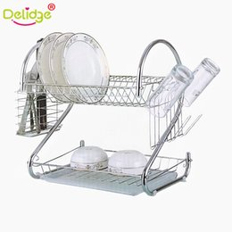 1 pc S-Shaped 2 Layers Dish Rack Tableware Shelf Plate Cutlery Cup Rack Bowl Rack Kitchen Dish Shelf Cutlery accessories  sc 1 st  DHgate.com & Plates Rack Kitchen Australia | New Featured Plates Rack Kitchen at ...