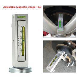 Wholesale Japanese Oil - Universal Adjustable Magnetic Gauge Tool Camber Castor Strut Wheel Alignment Truck Car Camber Castor Strut Wheel Alignment Auto
