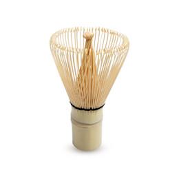 Bambú japonés Matcha Batidor de bambú natural tradicional que se prepara para el polvo del té verde Herramienta del cepillo de Chasen (100 dientes) desde fabricantes