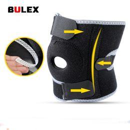 Wholesale Neoprene Knee - BULEX Neoprene Elastic Open Patella Adjustable Basketball Kneepad Rodilleras Soutien Joelheira Knee Protector Support Pad Brace