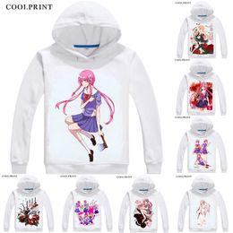 Mirai Nikki Zip Hoodie Hoody Logo Anime Manga Geek T Shirt Tee Yuno