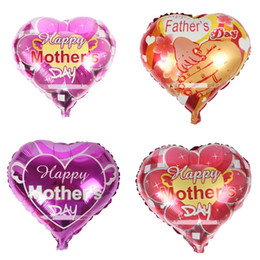 Wholesale Happy Balls - Helium Foil Balloon Happy Fathers Mothers Day Theme Ball Creative Parents Party Decoration Metallic Balloons Free Shipping 0 55hy Z