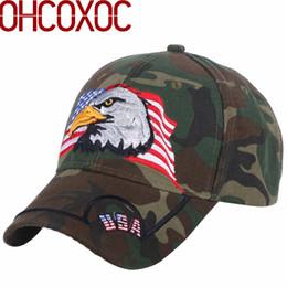 f987361181a customized baseball caps NZ - promotion men s sport baseball caps women  novelty hat customized design eagle
