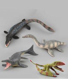 2019 esperimenti automobilistici Dinosauri in PVC Giocattolo Modello Jurassic World Dinosauro Tyrannosaurus Velociraptor Giganotosaurus Dinosauro Giocattolo di plastica Modello Giocattoli Regali per bambini
