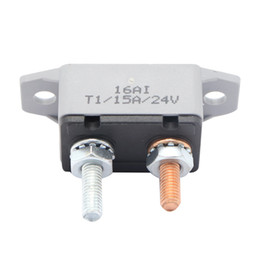 15 atv online-ZOOKOTO vendita calda 12-24V Portafusibile da 15 Amp ATV Interruttore automatico di reset Interruttore portafusibile 15A