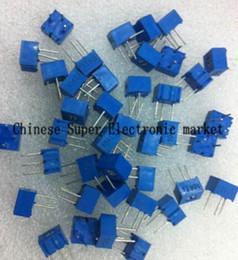 100pcs 3362P-102 3362 P 1K Ohm High Precision Variable Resistor Potentiometer