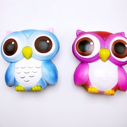 Wholesale China Owl - Cute PU Simulation Squishy Animal Owl Shape Slow Rising Squishies For Kids Reduce Pressure Toys New Arrival 20bq B