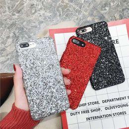 Искра Bling Серебряный телефон Case для iPhone X 7 8Plus SE 6 S мобильный телефон оптом роскошные блеск горный хрусталь жесткий мода Case с Opp сумки от Поставщики iphone rhinestone чехол для мобильного телефона