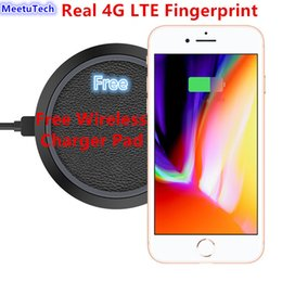 Wholesale Camera Gift Card - 2018 Christmas Gift Unlocked Goophone i8 plus Free Wireless Charging Real 4G LTE Fingerprint Octa Core 4GB RAM 256GB ROM Android 6.0