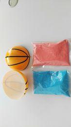 Ordem rosa bola on-line-Sexo revelar explodindo bola cesta rosa e azul Kit pequenas encomendas transporte rápido
