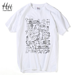 Wholesale Tshirt Big Bang Theory - Wholesale-HanHent Physics T-shirts Men Creative Casual Tshirt Short Sleeve Tee shirt Math Cotton Tops The Big Bang Theory Geek T shirts