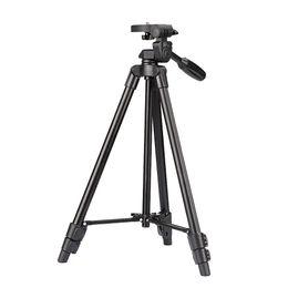 Оптовая VCT-520 портативный штатив + демпфирования глава сумка для Canon Nikon DSLR камеры YUNTENG 520 от