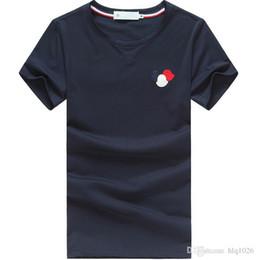 Verão o pescoço mens designer t camisas moda masculina t shirt nova manga curta casual breve homens t shirt frete grátis de