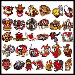 Su geçirmez Sticker Şövalye Koleksiyonu Çıkartması Vinil Yan Kapı Posteri Rider Cep Telefonu Araba Pencere motosiklet kask hazne ... nereden telefon motosikleti tedarikçiler