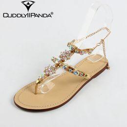 9a76199f3d984 2019 entworfene flipflops 2017 Luxus Design Frauen Sandalen Kristall  Sandalias Mujer Strass Sexy Lady Sommer Schuhe