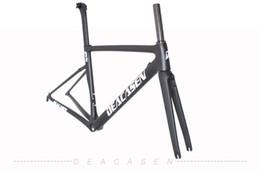 Wholesale Road Bike Front Fork - DEACASEN brand cheaper lighter frames bike frame bicycles carbon road frame cycling frame + Front fork
